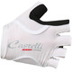 Castelli Rosso Corsa Pave Bike Gloves Women white/black
